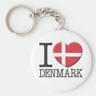 Denemarken Sleutelhanger