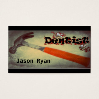 Dentiste Carte De Visite Standard