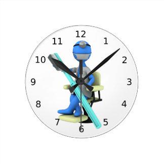 Dentiste Horloge Ronde