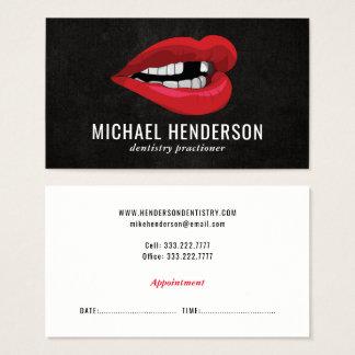 Dentisterie esthétique professionnelle moderne cartes de visite
