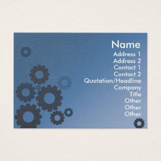 Dents bleues - potelées cartes de visite