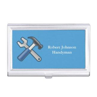 Dépanneur de clé de marteau de bricoleur porte-cartes de visite