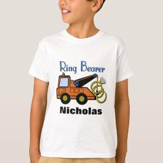 Dépanneuse de porteur d'alliances t-shirt