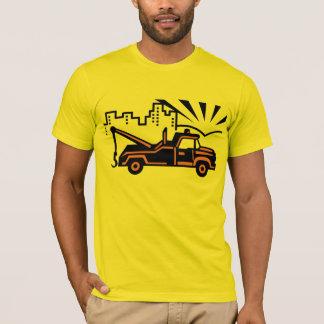 Dépanneuse vintage de vecteur t-shirt