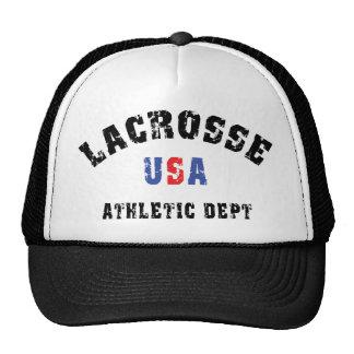Département sportif de lacrosse des Etats-Unis Casquettes