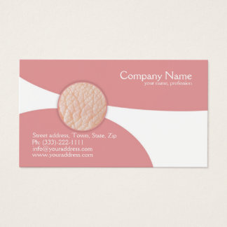 Dermatologue - docteur de peau carte de visite
