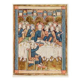 Dernier dîner, de 'Psautier un l'Usage De Paris Carte Postale