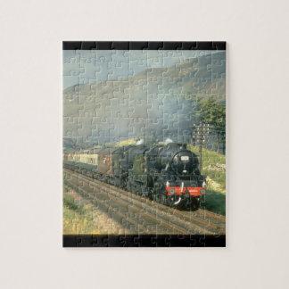 Derniers trains du steam-hauled_Steam du chemin de Puzzle