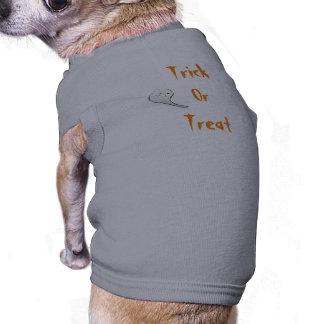 Des bonbons ou un sort tee-shirt pour animal domestique