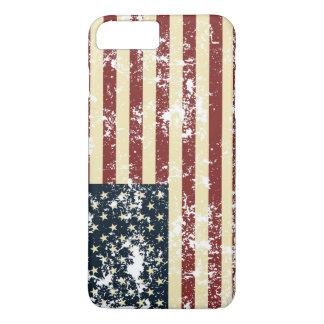 Des Etats-Unis de drapeau d'Apple de l'iPhone 7 de Coque iPhone 7 Plus