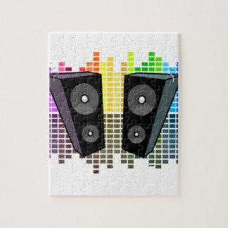Des haut-parleurs - transparen puzzle