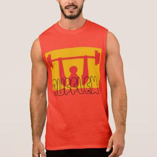 Des hommes T-shirt sans manche du coton ultra