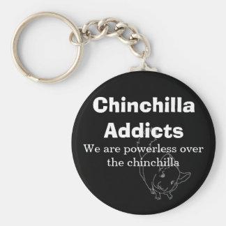 Des intoxiqués de chinchilla, nous sommes porte-clés