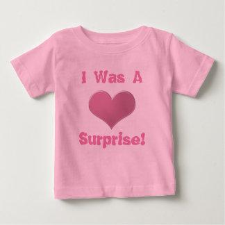 Des jumeaux Tripplets j'étais une surprise etc. T-shirt Pour Bébé