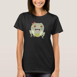 Des peu de le T-shirt de la grenouille femmes