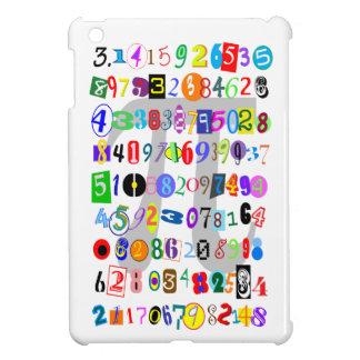 Description colorée et d'amusement de pi coque pour iPad mini