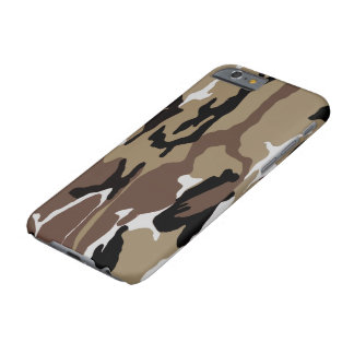 Désert Camo Coque iPhone 6 Barely There
