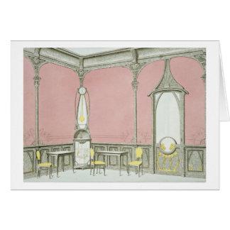Design d'intérieur pour une brasserie, carte de vœux