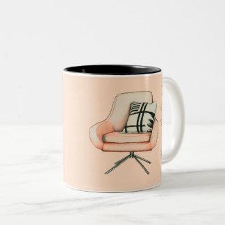 Design est art mug bicolore