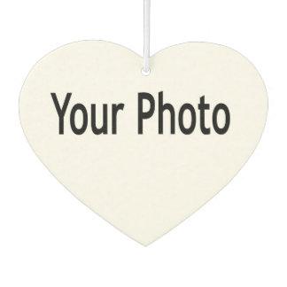 Désodorisant Pour Voiture Ajoutez votre photo à ce parfum d'ambiance