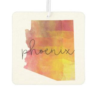 Désodorisant Pour Voiture Aquarelle Phoenix Arizona