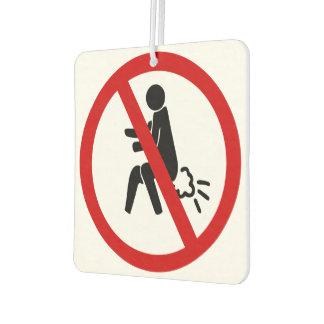 Désodorisant Pour Voiture AUCUN ⚠ thaïlandais drôle de signe de toilette de