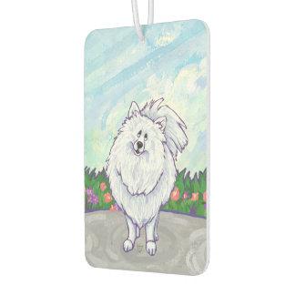 Désodorisant Pour Voiture Cadeaux et accessoires blancs de Pomeranian