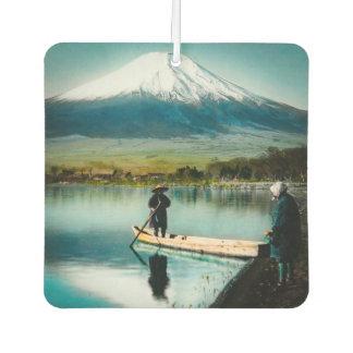 Désodorisant Pour Voiture Le mont Fuji du cru de 富士 de Yamanaka de lac