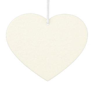Désodorisant Pour Voiture Parfum d'ambiance en forme de coeur