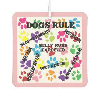 Désodorisant Pour Voiture Règle de chiens