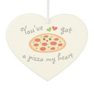 Désodorisant Pour Voiture Vous avez une pizza mon calembour drôle mignon
