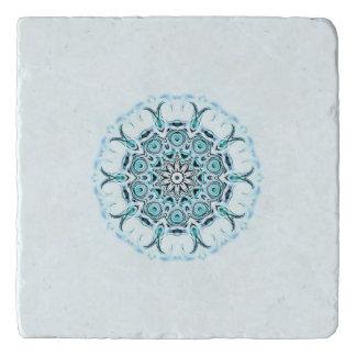 Dessous-de-plat arrière - plan abstrait de blanc de seafoam