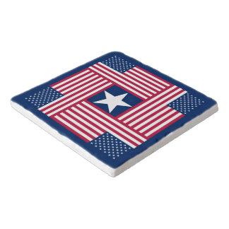 Dessous-de-plat Drapeau américain patriotique