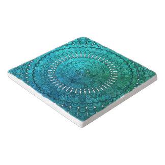 Dessous-de-plat Mandala de turquoise