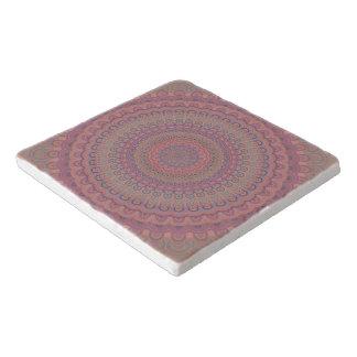 Dessous-de-plat Mandala d'ovale de Boho