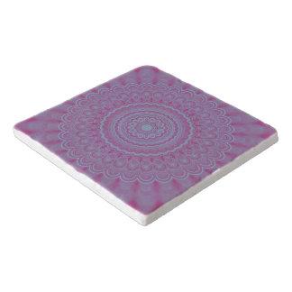 Dessous-de-plat Mandala géométrique de fleur