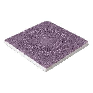 Dessous-de-plat Mandala mauve