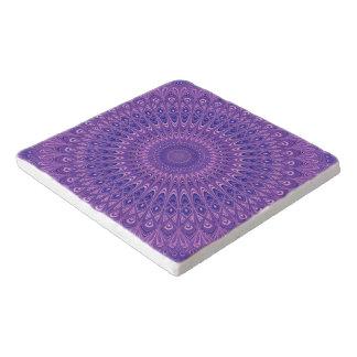 Dessous-de-plat Mandala pourpre