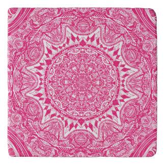 Dessous-de-plat Motif rose de mandala