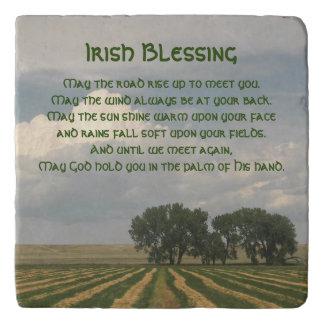 Dessous-de-plat Pierre irlandaise de photo de terres cultivables