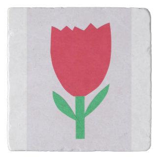 Dessous-de-plat Trépied avec la conception de tulipe