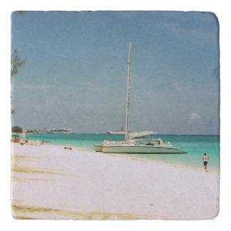 Dessous-de-plat Trépied de scène de plage