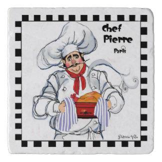 Dessous-de-plat Trépied français de pierre de chef