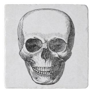 Dessous-de-plat Trépied vintage de crâne
