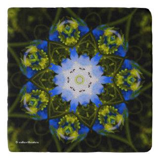 Dessous-de-plat Yeux de bleus layette kaléïdoscopiques