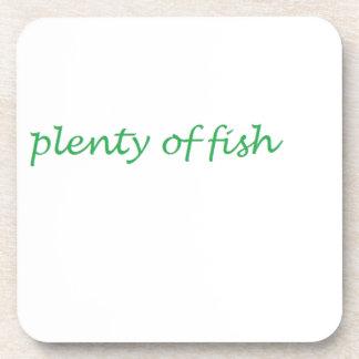 Dessous-de-verre abondance des poissons