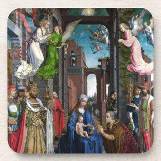Dessous-de-verre Adoration de rois avant janvier Mabuse
