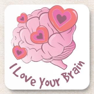 Dessous-de-verre Aimez votre cerveau
