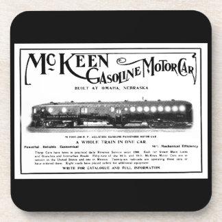Dessous-de-verre Automobiles d'essence de McKeen 1911