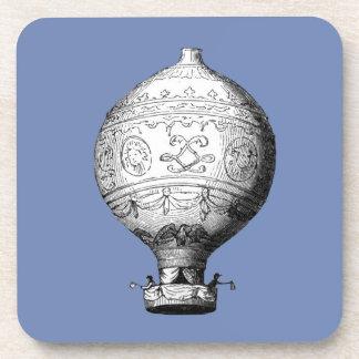 Dessous-de-verre Ballon à air chaud vintage de Montgolfier
